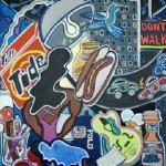Girl Gone Gourmet | Acrylic on Canvas