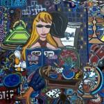 City Reader | Acrylic on Canvas
