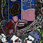 How To Save Your Own Life | Acrylic on canvas