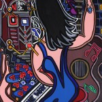 8th Street Blues | 18 x 24 | Acrylic on Canvas | 2000