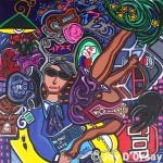 Feast | 30 x 32 | Acrylic on Canvas | 2006