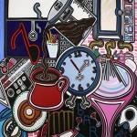 "Monday Morning Melodrama | 48"" X 36"" | Acrylic on Canvas"