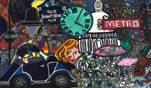"""Lost in Paris 