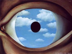 Rousseau Eye painting