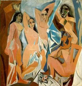 Pablo-Picasso-Les-Demoiselles-dAvignon-1907